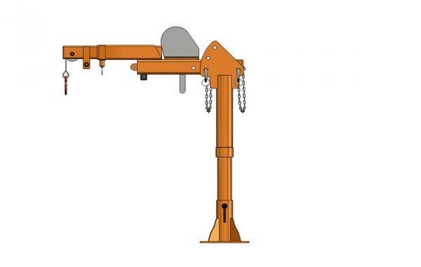 Säulendrehkran FSK 500 – manuell