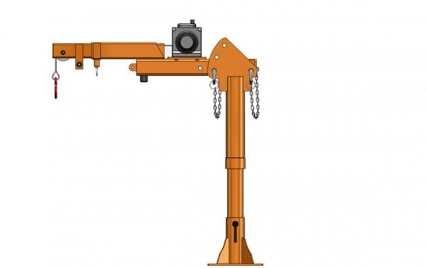Säulendrehkran FSK 500 – elektrisch